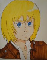 Armin Arlert (Finished) by Peanutbutterdreamer