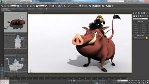 3D Timon and Pumbaa by iemersonrosa