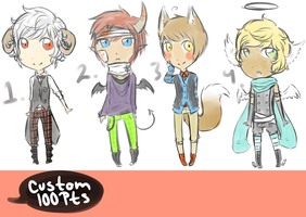 Adoptables2 Closed by tapiocAdopts