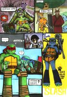 My TMNT doodle -3 by CATGIZI
