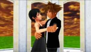 Sora x Xion - Sunset Dance With You by rev-rizeup