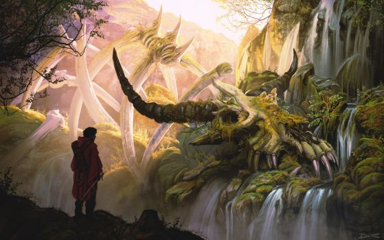 Dragon tooth falls by arcipello