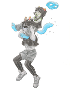 Equius and Nepeta by Doutarina