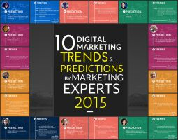 Digital Marketing Trends And Predictions 2015 by galaxyweblinks