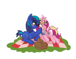 Picnic Commission by ladypixelheart