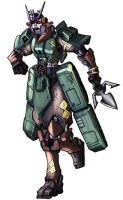 Bludgeon in colour by Blitz-Wing