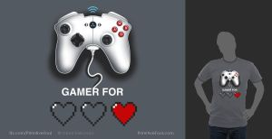 Gamer for Life by OmarFeliciano