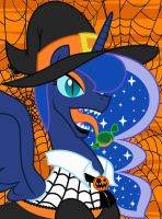 nightmare night what a frite so give me something by EvilFrenzy