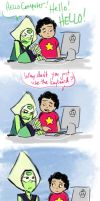 Steven Universe Peridotcomic by jameson9101322