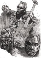 Paul Gray R.I.P. by Alleycatsgarden