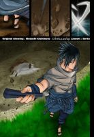 Sasuke enters the battlefield by thelucasrbp