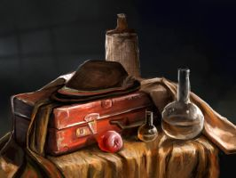 Still Life Study travel case by charfade