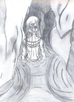 darkwaters black and white by Kamico