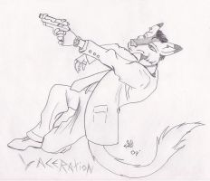 Action Shot by RaveFoeSeeker