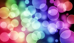 Rainbow Bokeh by RiceyRain