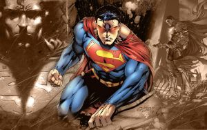 WS Superman Wallpaper by coramay