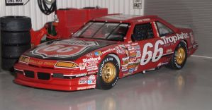 Dick Trickle's 1990 Phillips 66/TropArtic Pontiac by motorhead4646
