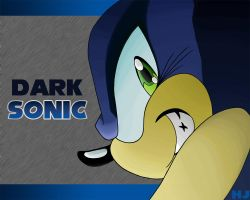 Dark Sonic Wallpaper1280x1024 by Twitnip
