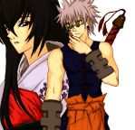 Tomoe and Enishi by methcooker