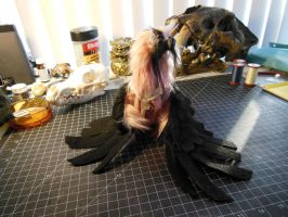 Mini Vulture ooak for sale by ZombieHun