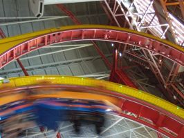 West Edmonton Mall Coaster by Loulou13