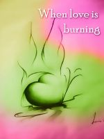 Burning by wildwoolfy