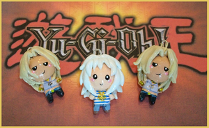 Chibi-Charms: Bakura and Marik by MandyPandaa