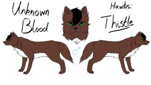 Unknown Blood - Thistle Reference by fluffylovey
