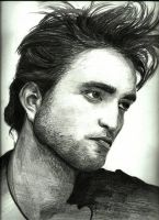 Robert Pattinson Portrait by jiehng