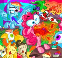 My Little Wacky Pony: Madness is Magic 3 by seriousdog