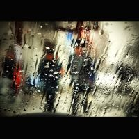 through a wet glass by Bobbyus