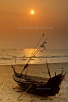Fishing Boat, Maung Ma Gan Beach, Dawei by PyeAyeNyein