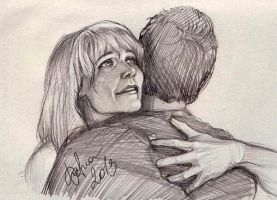 Pepperony sketch by DafnaWinchester