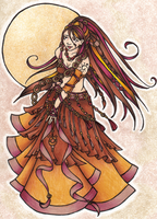 Autumn Belly Dancer by LaceChenault