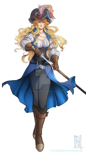 Comm: Swashbuckler by SicilianValkyrie
