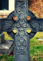 Celtic Cross tiny by HrWPhotography