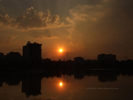 The Second Sunset Of September by eMBeeL