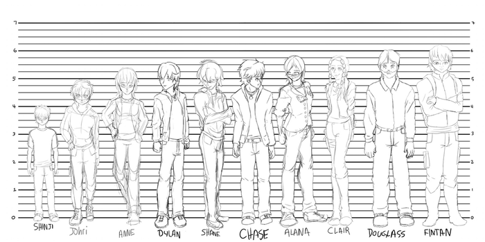 OC Lineup- Rough by Flautist4ever