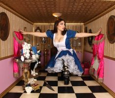 American McGee Alice Pink Room 2 by ThePrincessNightmare