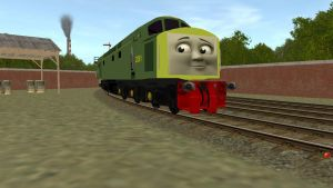 The Diesel/D261 in CGI by Sergeant-Sunflower