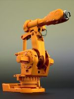 ABB IRB 6620 Robotic Arm by SpawnV2