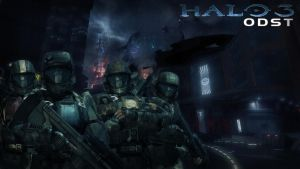 Wallpaper - Halo 3 ODST by Mackaged