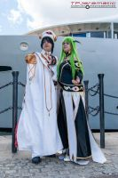 25th May MCM LON Lelouch and C.C. by TPJerematic
