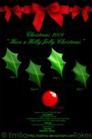 Christmas Hollies - stock 2 by Hermit-stock