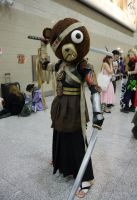 The dual wielding Kuma MCM Oct '12 by KaniKaniza