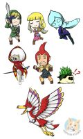Skyward Sword Keychain art by NotJailBait
