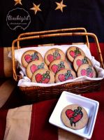 Bioshock Infinite Possession Cookies by tasukigirl