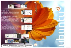 Ubuntu 10.04 LTS DVD CASE by Z33GHOST