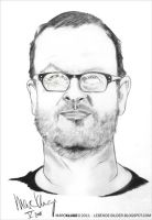 Lars von Trier by Gopherproxy