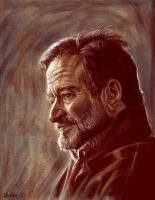 Robin Williams by ArtofOkan